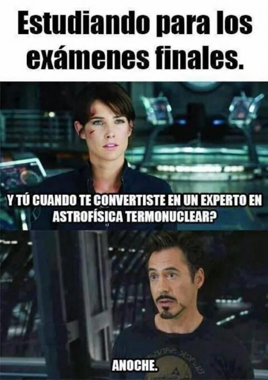 Meme_otros - Cuando estudias para exámenes finales