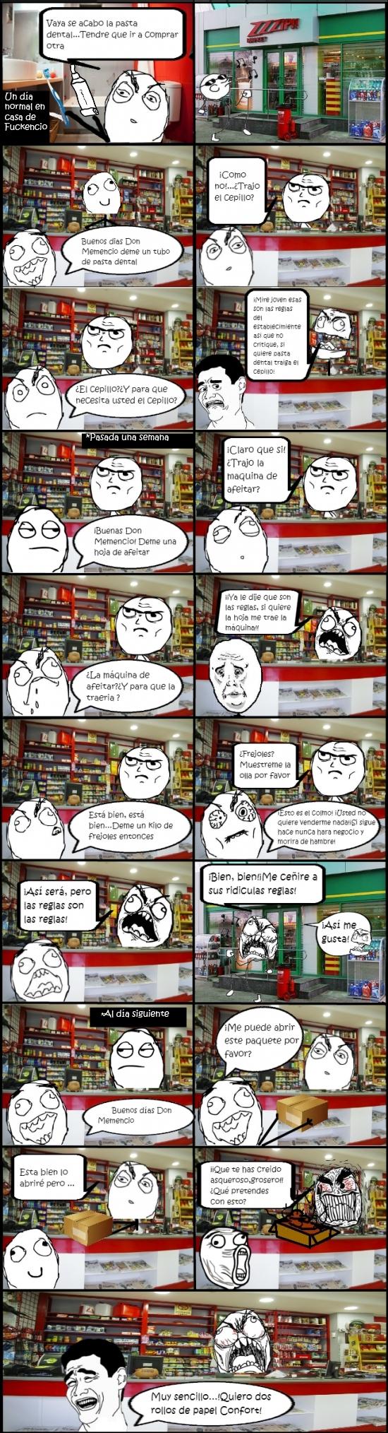 Yao - A trollear a una tienda se ha dicho