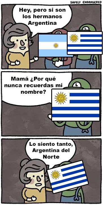 Otros - Pobre Uruguay siempre olvidado :(