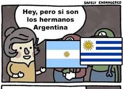 Enlace a Pobre Uruguay siempre olvidado :(