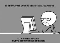 Enlace a Slip-n-slide fútbol con jabón es el nuevo deporte que Brasil muestra al mundo