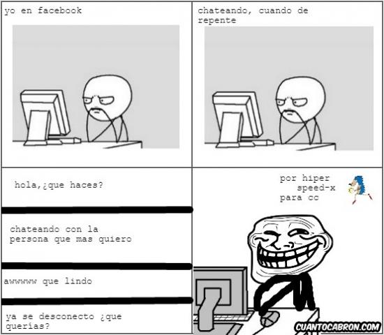 Trollface - Fácil y sencillo, así se trollea en Facebook