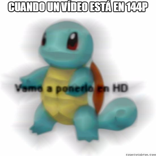 HD,Squirtle,Vamo a Calmarno,Vídeo