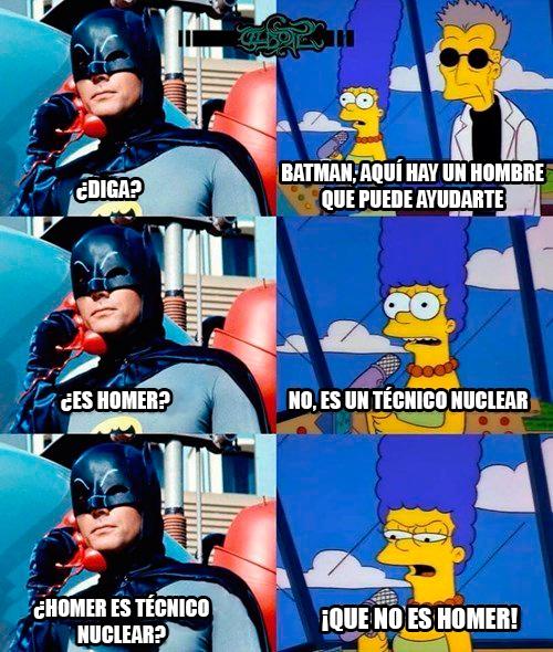 Meme_otros - Batman necesita ayuda