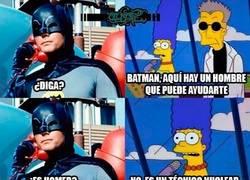 Enlace a Batman necesita ayuda
