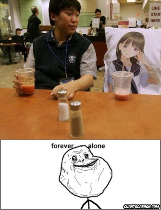 Forever_alone - No se puede caer más bajo que esto...