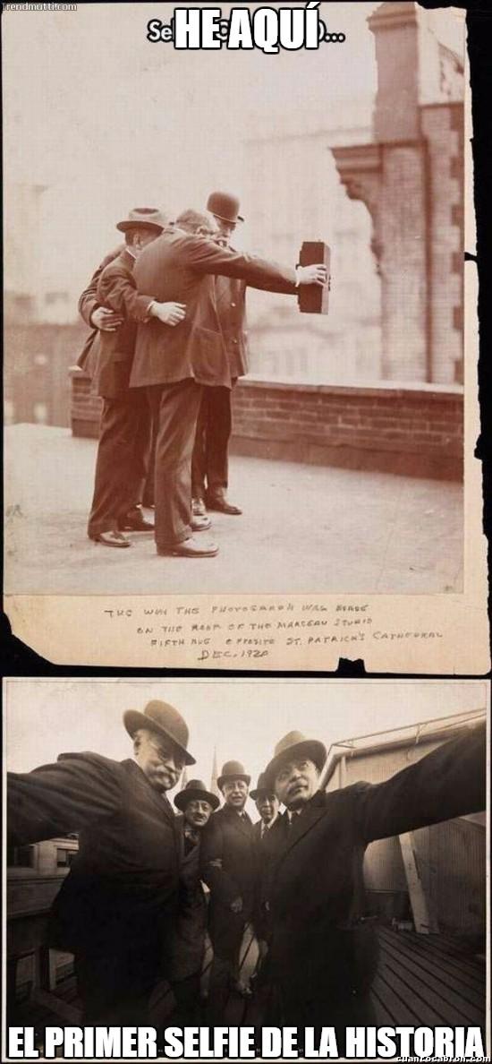 Meme_otros - El primer selfie de la historia