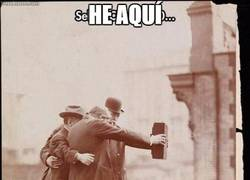 Enlace a El primer selfie de la historia