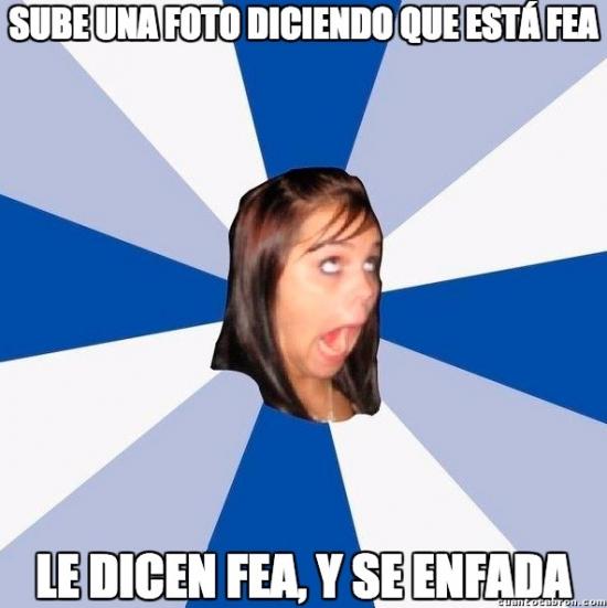 Amiga_facebook_molesta - Simplemente mujeres...