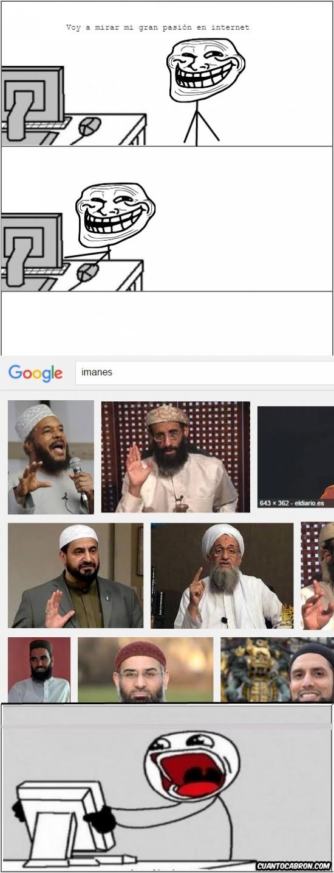 imanes,ordenador,trollface