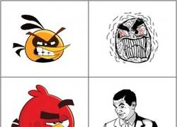 Enlace a Angry Birds y sus memes
