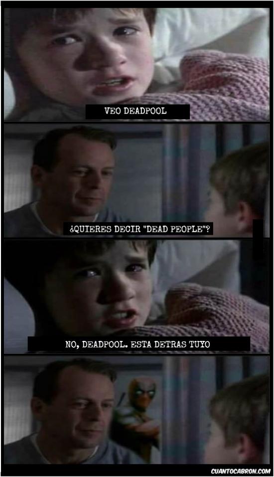 Otros - Deadpool metiéndose donde no le llaman