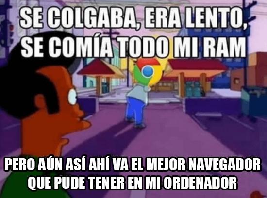 Meme_otros - El mejor navegador