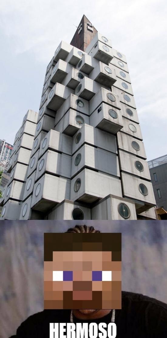 Meme_mix - El edificio de Steve