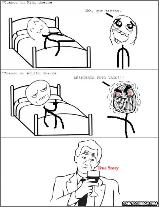 True_story - Todo es peor de mayor :(