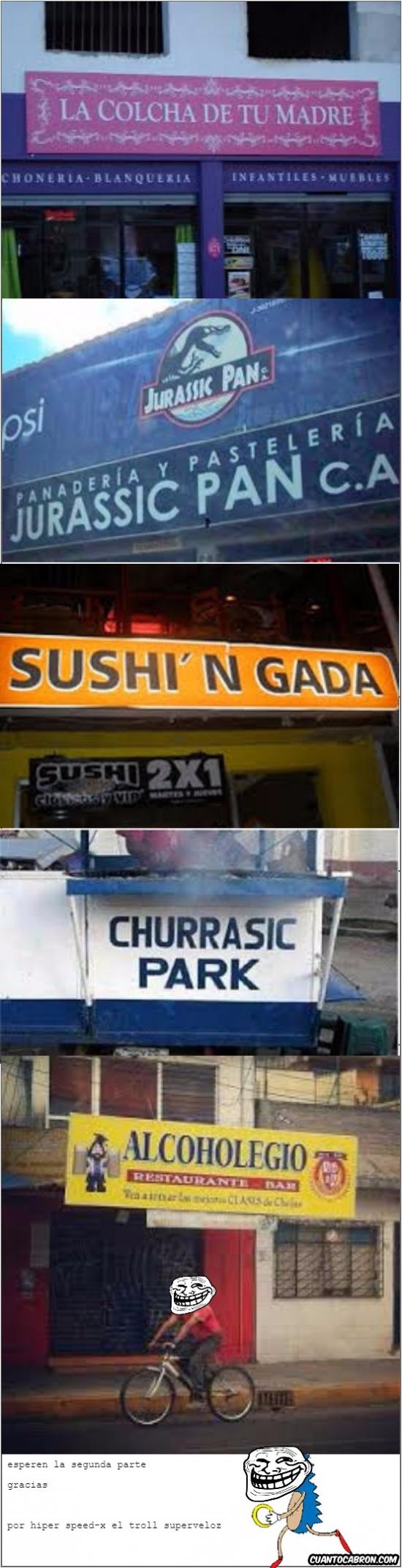 Otros - Nombres de negocios muy graciosos