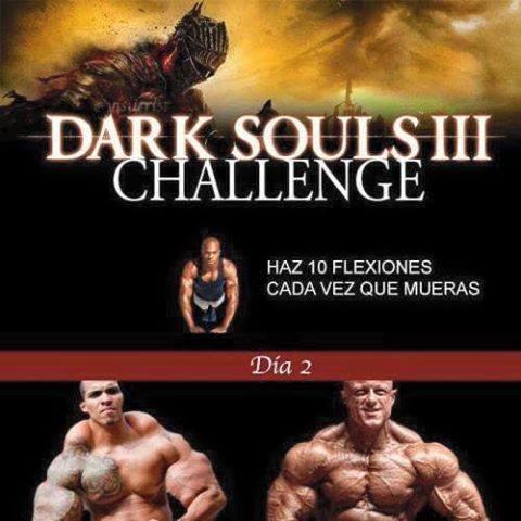 challenge accepted,dark souls,morir,tipico