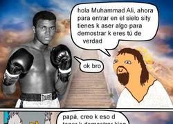 Enlace a Muhammad Ali se ha encontrado ya con Yisus