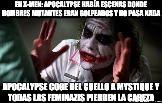 Joker - ¿Por qué no se preocupan por cosas más importantes?