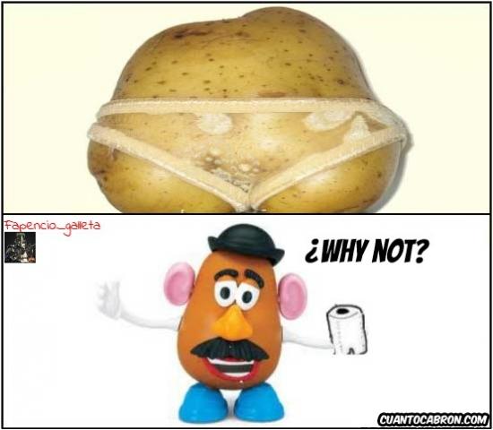 Why_not - Mr. Potato se lo va a pasar bien tras ver esto...