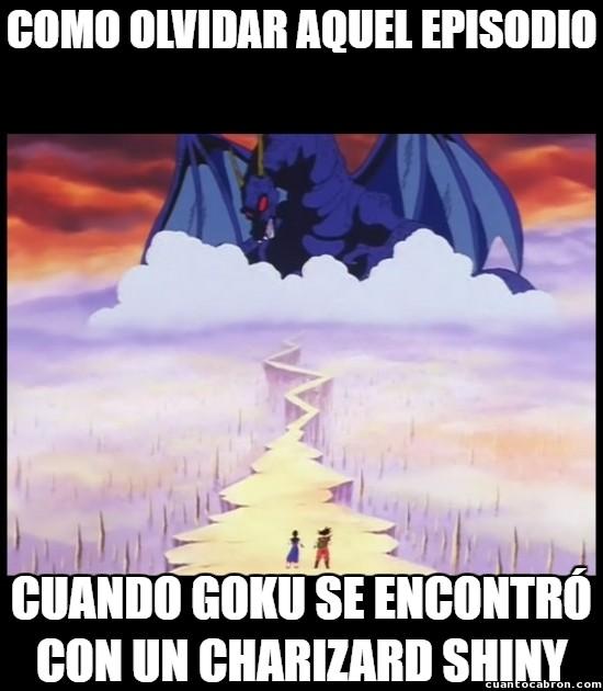 Meme_otros - Dragon Ball predijo los Shiny
