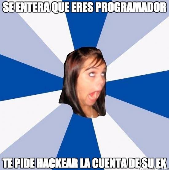 Amiga_facebook_molesta - Lo que piensan que hace un programador