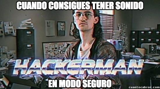 Meme_otros - Sentirse como un verdadero dios de informática al hacer esto