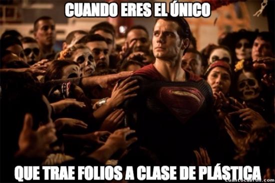 Superman_heroe - El salvador de la clase