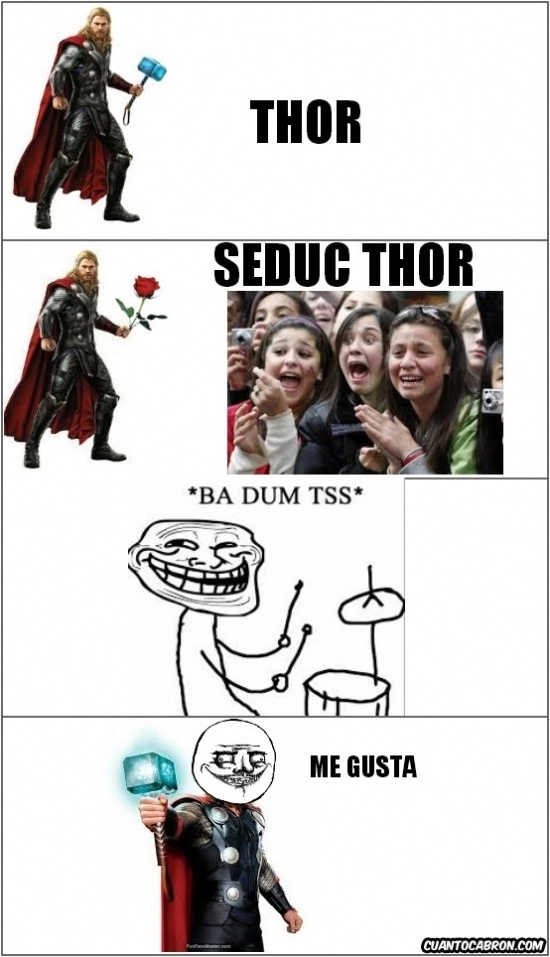 mujeres,never alone,seductor,thor