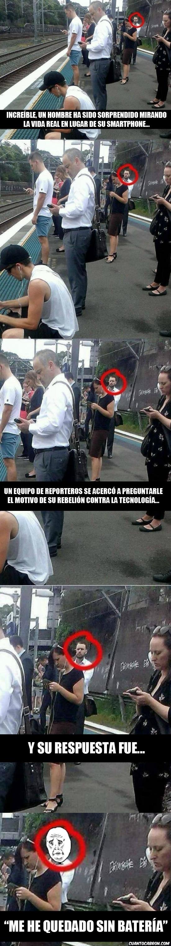 Meme_otros - El increíble caso del hombre esperando el tren...