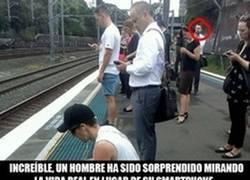Enlace a El increíble caso del hombre esperando el tren...