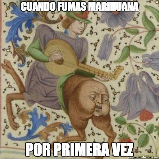 Meme_otros - Marihuana en la Edad Media