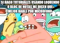 Enlace a Los problemas de los tutoriales en Youtube