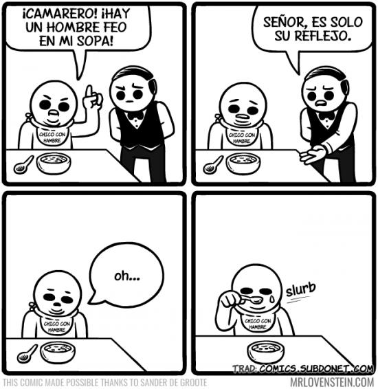True_story - Tristeza al comer sopa :(