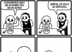 Enlace a Tristeza al comer sopa :(