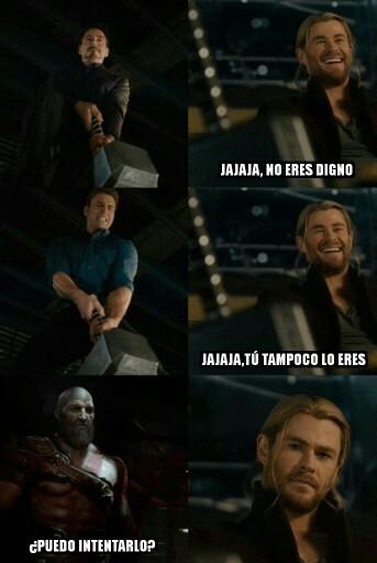 Otros - Parece que Thor no está de acuerdo con eso...