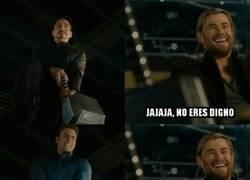 Enlace a Parece que Thor no está de acuerdo con eso...