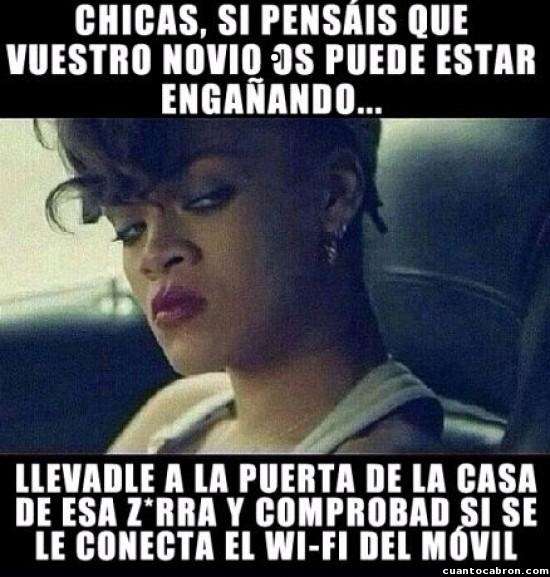 Meme_otros - Haced caso a Rihanna