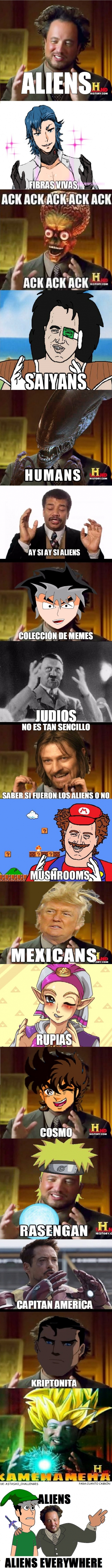 Otros - Aliens, aliens everywhere