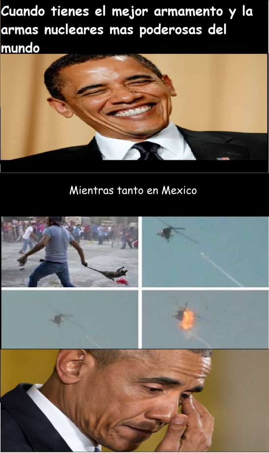 arma,destruccion,EEUU,Mexico,oaxaca,TLCUACHE