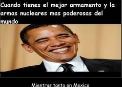 Enlace a El armamento mexicano supera a Estados Unidos