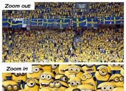 Enlace a Nada como un acercamiento a los fans de la selección sueca
