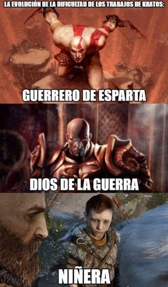 Meme_otros - Los empleos de Kratos