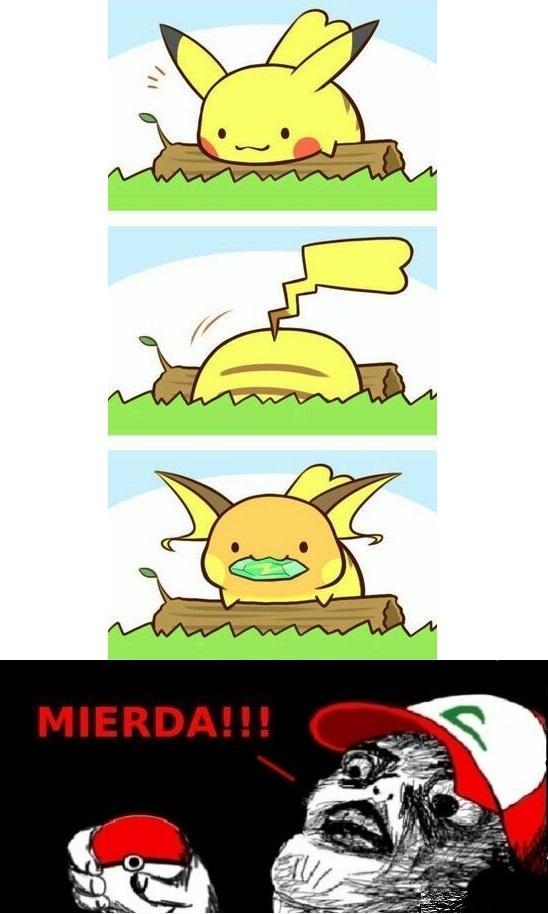 Inglip - Un drama cuando le pasa esto a tu Pikachu sin querer