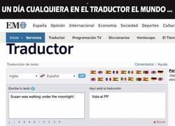 Enlace a El ¿fail? del traductor de El Mundo
