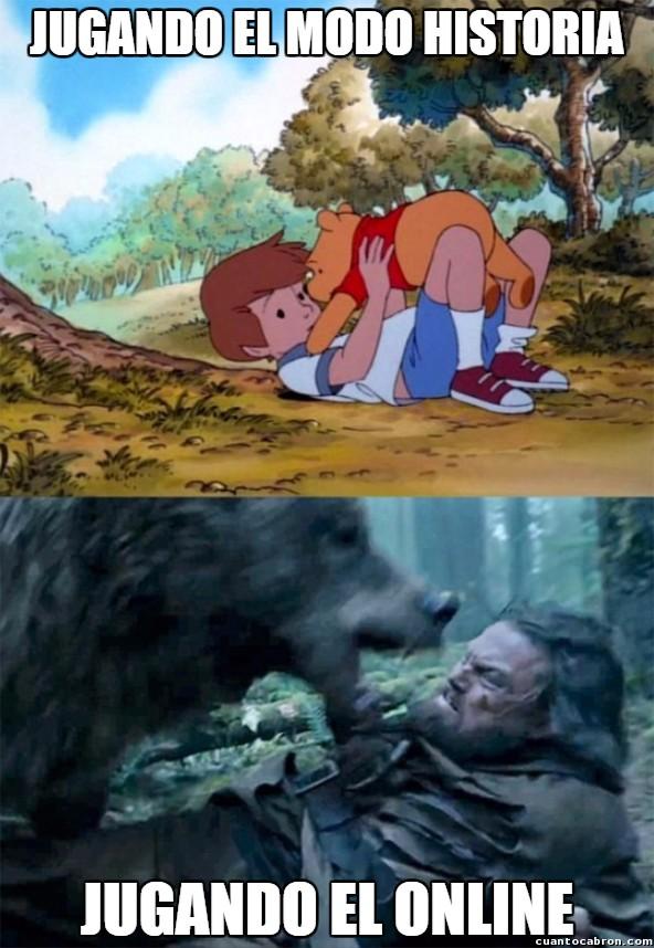Bear_leo - Los videojuegos cambian mucho