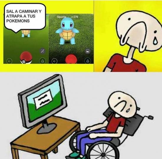 Okay - No a todos se les da bien lo de Pokémon GO