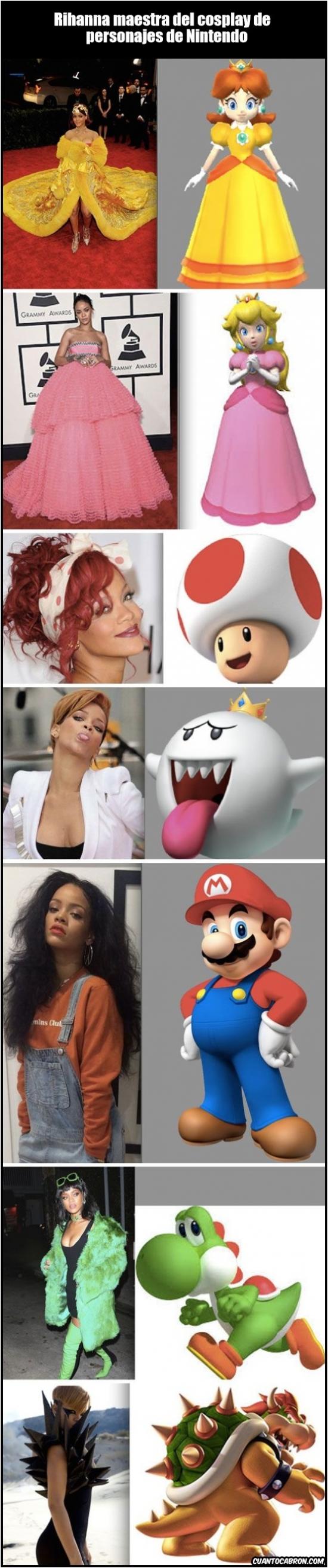 Otros - Rihanna: La maestra del disfraz