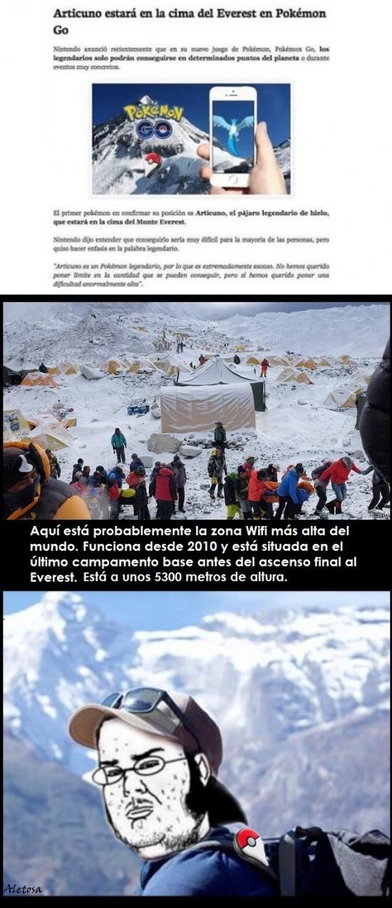 Friki - ¡Todos al Everest!