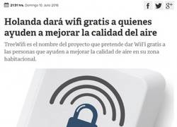 Enlace a Holanda tiene una gran noticia para los que viven conectados a internet
